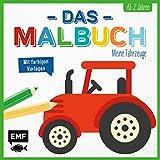 Das Malbuch – Meine Fahrzeuge: Ab 2 Jahren