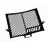 IBEX 10001618 Kühlerabdeckung Wasserkühler Kühlergrill Kühlerschutz Kühlergitter Kühlerschutzgitter Kühlerverkleidung schwarz Design Logo