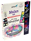ARTISTA 9324007 Malen mit Spiralschablonen, Malset (Spielzeug)