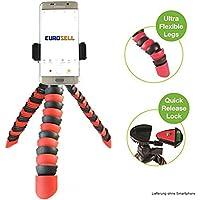 Eurosell Premium trípode mesa soporte flexible para Android Smartphone/Apple iPhone 4567S Plus