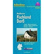 bikeline - Radkarte Fischland-Darß-Vorpommern, Zingst-Nordvorpommern-Rostock-Ribnitz-Damgarten-Warnow-Recknitz, 1:75.000, mit Zentrums- und  Ortsplänen, GPS-tauglich mit UTM-Netz, wasserfest/reißfest
