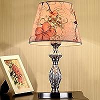 LEDMLSH Tischlampe Chrom Warm und romantische Blume Schlafzimmer Bedside Studie Zimmer Wohnzimmer Einfache E27... preisvergleich bei billige-tabletten.eu