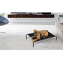 Cama para perros apta para interiores y exteriores TALLA L-125x78x20 cm