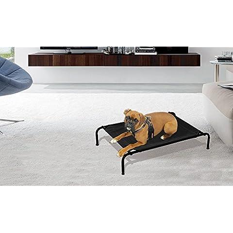 MWS2251 Cama para perros apta para interiores y exteriores (TALLA L - 125 x 78 x 20 cm)