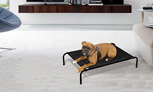 Cama perros apta interiores exteriores TALLA L-125x78x20