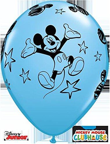 Mickey Disney Luftballons (Qualatex 13717Disney Mickey Maus rund Besondere Sortiment Latex Luftballons,)
