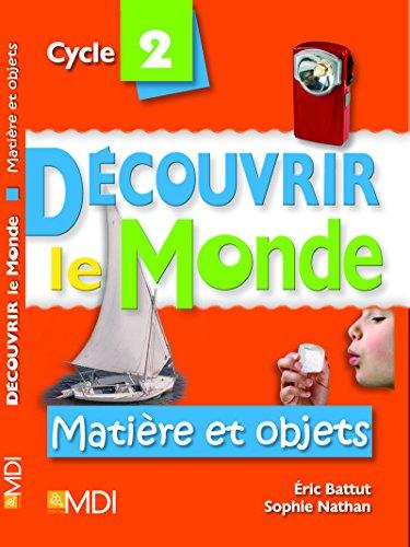 Matière et objets - Cycle 2 Pochette (178p) + CD format word