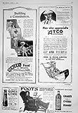 l eau de vie fine 1925 de grant de chaise de nourriture de la faucheuse de moteur de la publicit? atco benger kemik