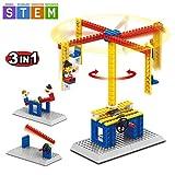 SEIGNEER 3 IN 1 Mechanisch gesteuertes Karussell Modell-Bausteinset Lernspielzeug 94 Teile