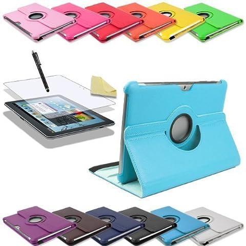 3in1 SET 360° Edle Schutztasche für Samsung Galaxy Tab 2