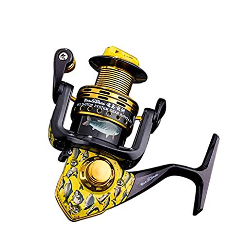 RGTOPONE Left/Right Interchangeable Metal Biax Parallel Fishing Spinning Reel End