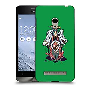Snoogg Wild Animals Designer Protective Back Case Cover For ASUS ZENFONE 6