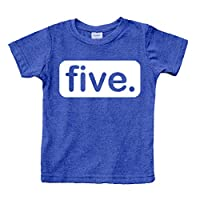 Unordinary Toddler 5th Birthday Shirt boy 5 Year Old boy Birthday boy Shirt 5 Five Gifts Fifth Shirts (Charcoal Blue, 6y)
