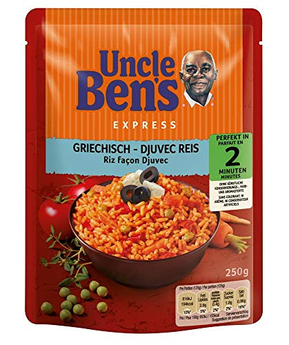 Preisvergleich Produktbild Uncle Ben's Express-Reis Griechisch,  250g