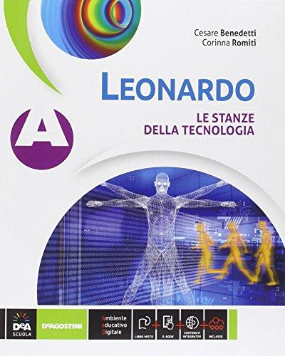 Leonardo. Vol. A-B. Con tavole. Per la Scuola media. Con e-book. Con espansione online