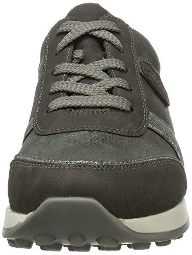Rieker N1823, Sneakers Basses Femme Gris (fumo/altsilber/blei / 45)