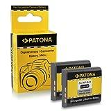 2x Akku / Batterie NP-BG1 für Sony CyberShot DSC-H3 | DSC-H7 | DSC-H9 | DSC-H10 | DS...
