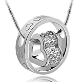 Valentine Gifts : Shining Diva Silver He...