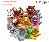 Risingmed Handpuppe Fingerpuppe Plüsch Tierpuppe Handspielpuppe Hand Puppets für Kinder Cute Gift (1pcs)