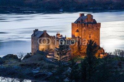 Eilean Donan Castle (Leinwand-Bild 50 x 30 cm: