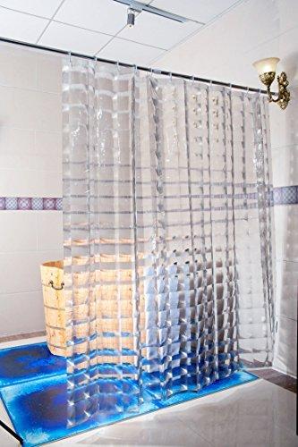 Duschy Duschvorhang 3D- Transparent