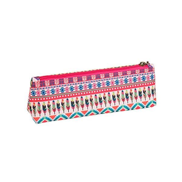 Dis2 – Estuche pequeño plano flamenco rosa
