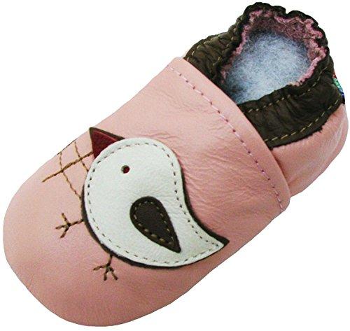 Carozoo Rose Poussin (Chicky Pink), Chaussures Enfant/Bébé Semelle Souple Fille