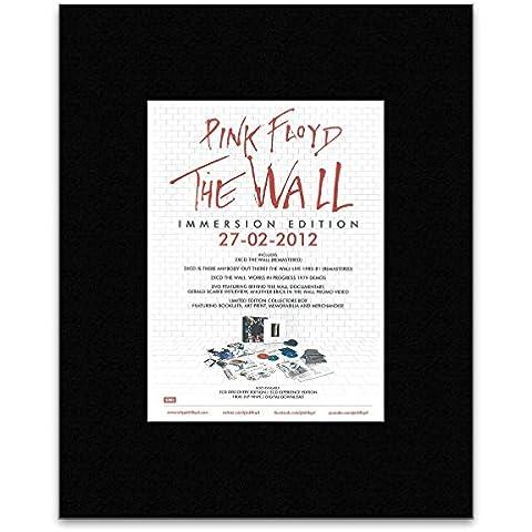 Pink Floyd–la pared–Póster de inmersión Edition Mini mate–29x 21cm