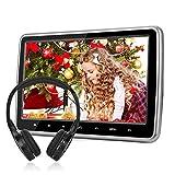 10,1' Kopfstütze Monitor DVD Player NAVISKAUTO DVD Memory Dünn HDMI Funktion USB SD IR Kopfhörer(CH1001B+Y0101S)