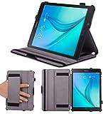 Supremery Galaxy Tab A 9.7 Hülle Case [Black][Sleep Funktion] Premium Tasche Hülle für Samsung Galaxy Tab A (Plus) 9.7