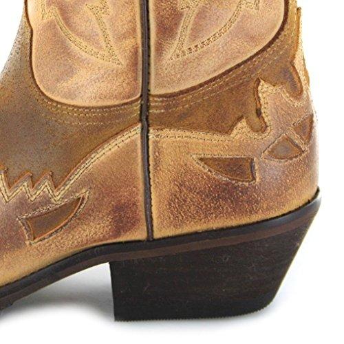 Boots Caramel NAZCAR Fashion Whisky BU1012 Herren Westernstiefel Braun Caramel Azdx7x