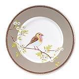 Pip early bird khaki Teller Speiseteller Desserteller 21cm Durchmesser