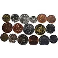 Novelty Collections-17 Americas Countries Coins (All UNC)