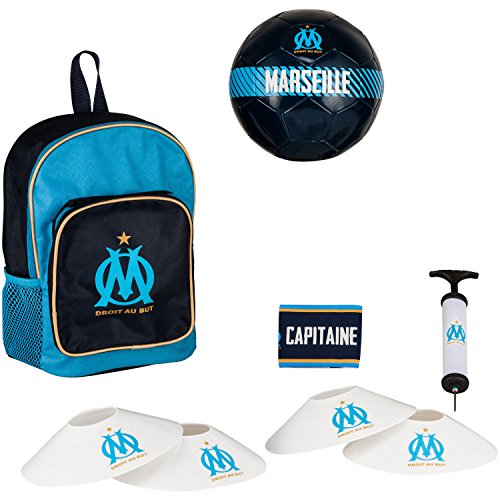 1e786926d5 Football kit OM - Sac + ballon + pompe + brassard + plots OM ...