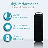 from MiniTehnics Digital Voice Recorder | Voice Activated Spy USB Flash Drive | 4GB / 279 Hours Capacity | 26 Hours Battery | Selectable Quality 32 or 384Kbps | No Led Lights | Records While Charging | TOTO384C-4GB Model TOTO384C-4Gb