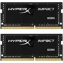 HyperX Impact - Memoria RAM de 16 GB DDR4 (2133 MHz, CL13, SODIMM 260-pin)
