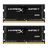 Kingston HyperX Impact HX421S13IBK2/32 32GB (2 x 16GB) RAM Kit (2133MHz DDR4 CL13 SODIMM, 1.2V, 260-pin)