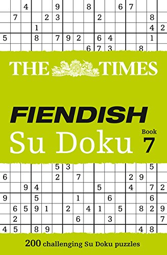 The Times Fiendish Su Doku Book 7 (Times Su Doku)