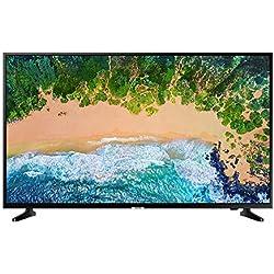 """Samsung UE43NU7090UXZT 43"""" 4 K Ultra HD Smart TV Wi-Fi DVB-T2CS2, Serie7 NU7090 [Classe di efficienza energetica A], 3840 x 2160 pixels, 109 Centimeters, Nero"""
