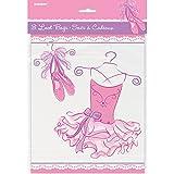 Unique Party 49493 - Buste Regalo Rosa Ballerina, Confezione da 8