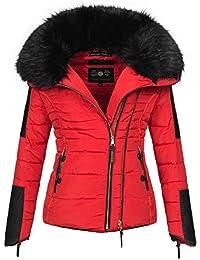 Navahoo Damen Winter Stepp Jacke Parka Winterjacke Steppjacke warm B386 278a30a3c8