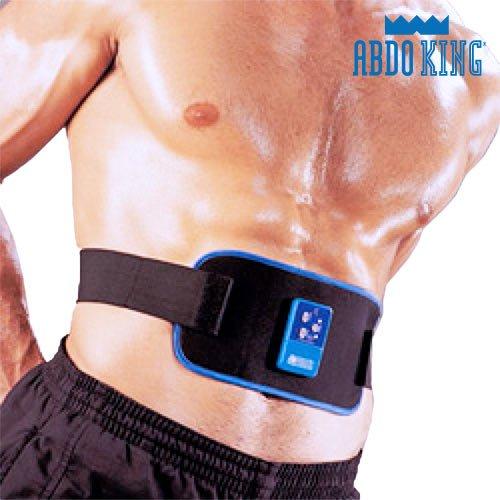 Apolyne Abdo King Redux Cinturón Electroestimulador, Unisex Adulto, Negro, Talla Única