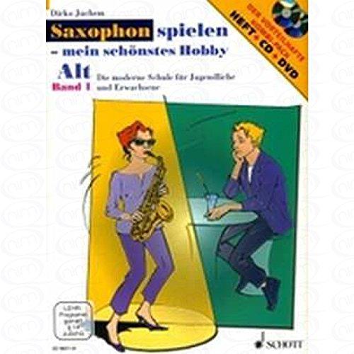 MEIN SCHOENSTES HOBBY - arrangiert für Altsaxophon - mit CD - mit DVD [Noten/Sheetmusic] Komponist : JUCHEM DIRKO (Rock Solid Tattoo)