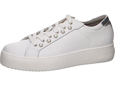 Tamaris 23770, Sneakers Basses Femme, Blanc (White Leather), 40 EU