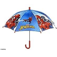 PERLETTI 75366 Boy 38/8 - Paraguas de Seguridad para Hombre, diseño de Spiderman