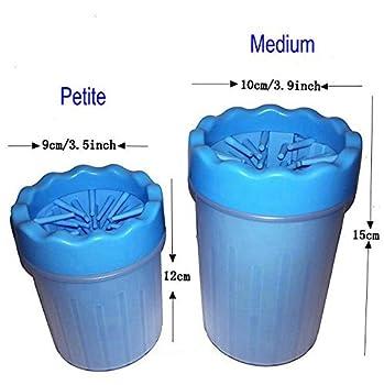 Petcabe Portable Patte de Chien Cleaner Brosse de nettoyage pour animal domestique Tasse Chien nettoyeur pour pied?Medium?