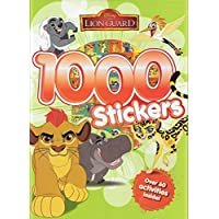 The Lion Guard: 1,000 Stickers, Colouring & Activities Book