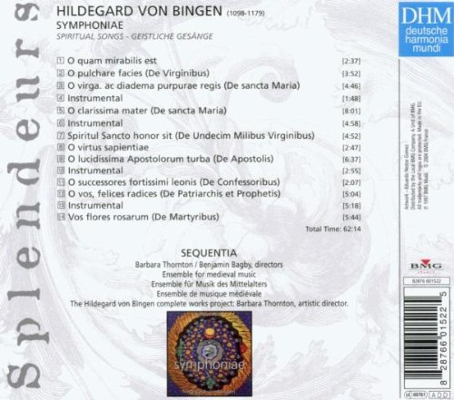 Hildegarde von Bingen - Symphoniae (Coll. Splendeurs)