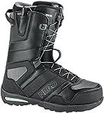 Nitro X6Vagabond TLS Stivali di Snowboard, Uomo, Uomo, 848411_265, Nero (Black), 265