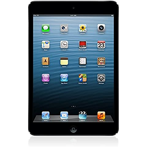 Apple iPad mini 64GB 3G 4G Negro, Grafito - Tablet (Minitableta, iOS, Pizarra, iOS, Negro, Grafito, Polímero de